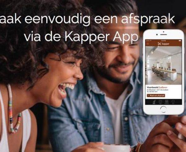 KapperApp online afspraak